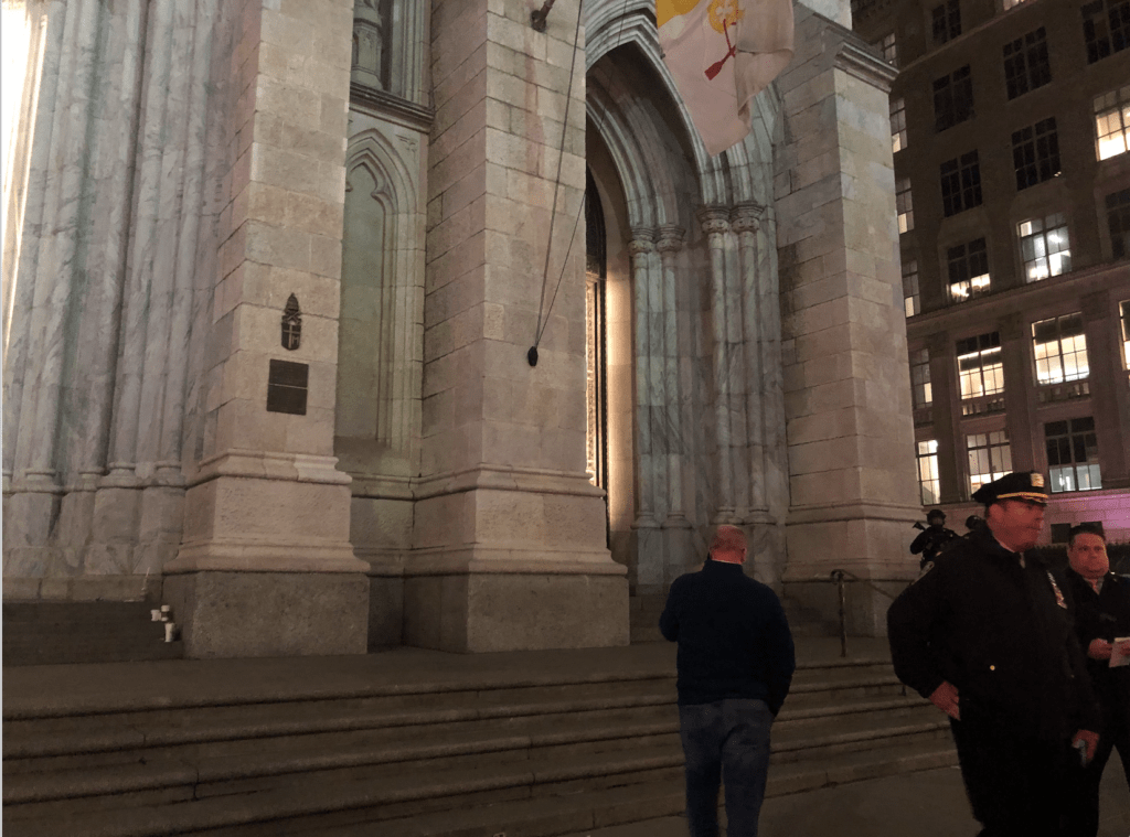 Man Arrested Trying To ENTER NYC's St. Patrick's Cathedral With GAS CANS 1