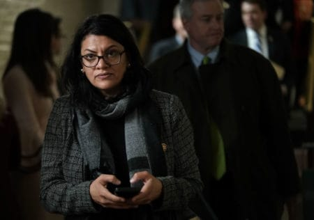 Trump JOINS IN on Criticism of Rep. Tlaib's VICIOUS Anti-Semitic Remarks 1