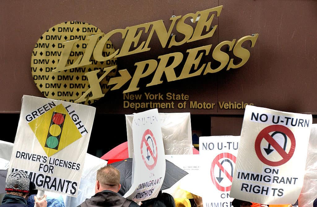 Kearns SUES New York Over Driver's Licenses for Illegals Law 1