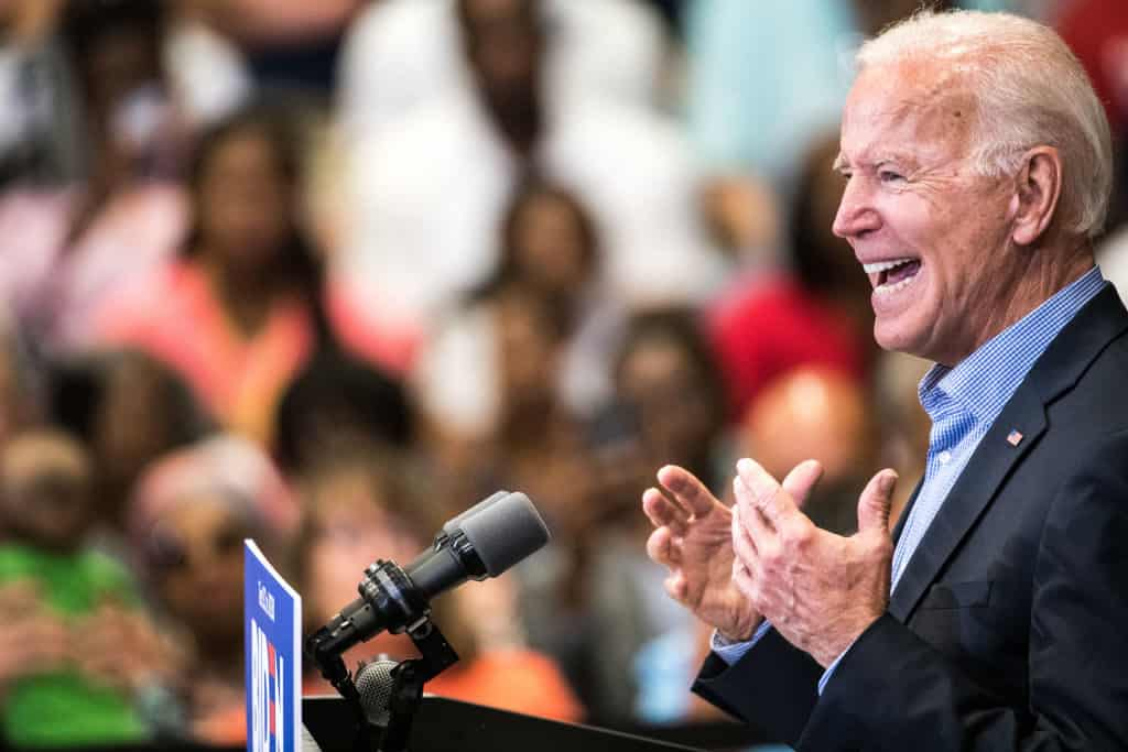 Biden says he suggested to Clinton not to talk about Access Hollywood tape on debate stage 1