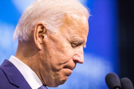 Biden coughs repeatedly and calls Trump 'President Hump' at New Hampshire Democratic gathering 8