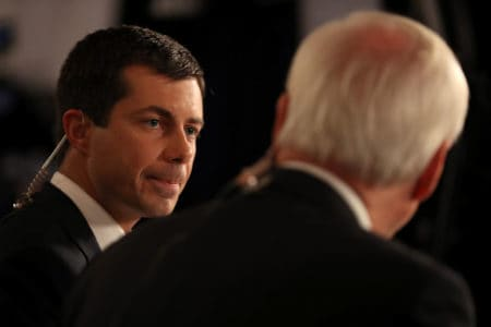 Buttigieg can't turn large money haul into big moment on debate stage yet 2