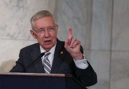 Harry Reid: Only a Democratic president can issue a proper executive order 1