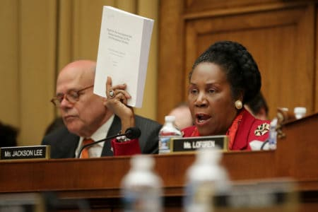 Sheila Jackson Lee disagrees with Schiff on whistleblower: 'It is important for us to hear' the testimony 1