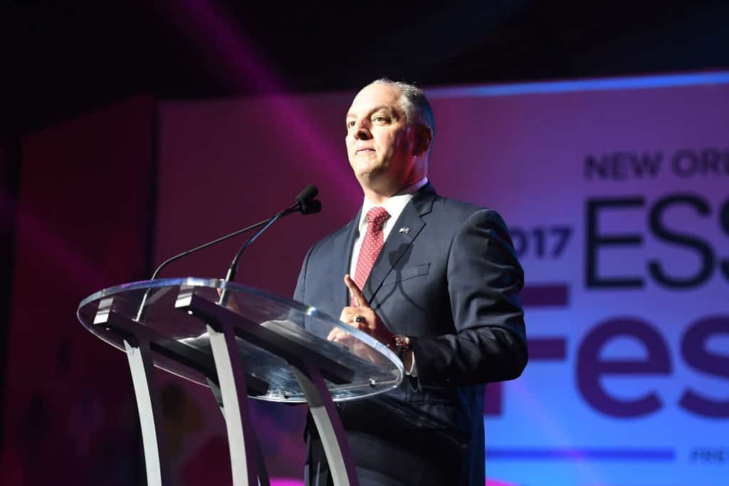Democratic Louisiana governor distances himself from national party in reelection bid 1