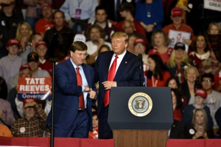 Mississippi and Louisiana governor races tight as Democrats try to overcome states' GOP leans 1