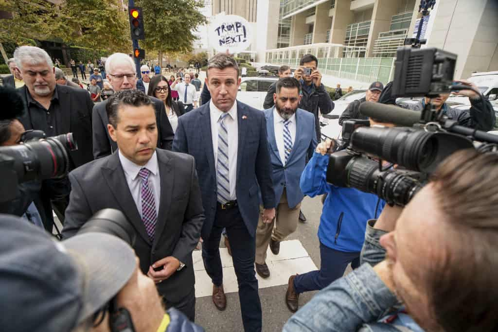 Mistresses and pet rabbit airline seat: Rep. Duncan Hunter campaign finance spending saga nears end 1